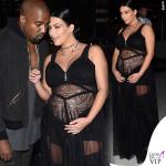 Kim Kardashian sfilata Givenchy