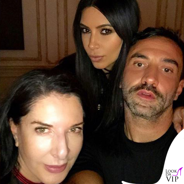 NYFW Givenchy Marina Abramovic Kim Kardashian Riccardo Tisci