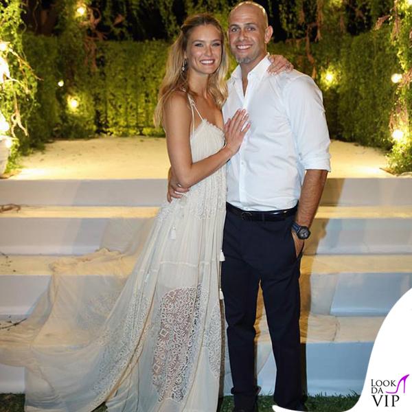 matrimonio Ezra Refaeli Bar Refaeli abito Chloe