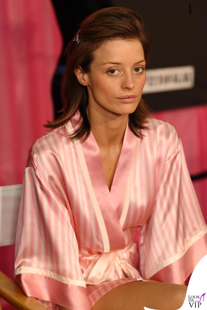 Victoria's Secrets Fashion Show backstage Flavia Lucini