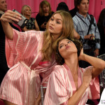 Victoria's Secrets Fashion Show backstage Gigi Hadid e Martha Hunt