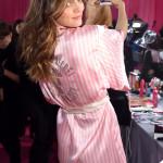 Victoria's Secrets Fashion Show backstage Barbara Fialho