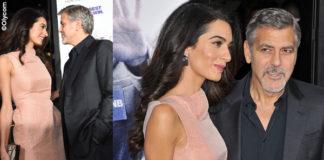 Amal Alamuddin George Clooney vestito Roland Mouret scarpe Jimmy Choo anello Pasquale Bruni clutch Salvatore Ferragamo