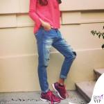 Elisabetta Gregoraci sneakers EA7 Emporio Armani C-Cube 2