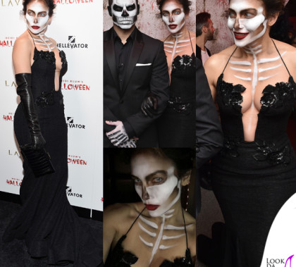 Jennifer Lopez Casper Smart Halloween abito Michael Costello