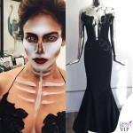 Jennifer Lopez Halloween abito Michael Costello 2