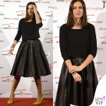 Kasia Smutniak Roma Fiction Fest abito Prada scarpe Gianvito Rossi