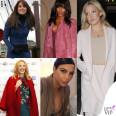 Kate Middleton Naomi Campbell Kate Hudson Kim Kardashian Kylie Minogue cappotto
