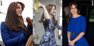 Kate Middleton cappotto Christopher Kane abiti Tabitha Webb e Saloni