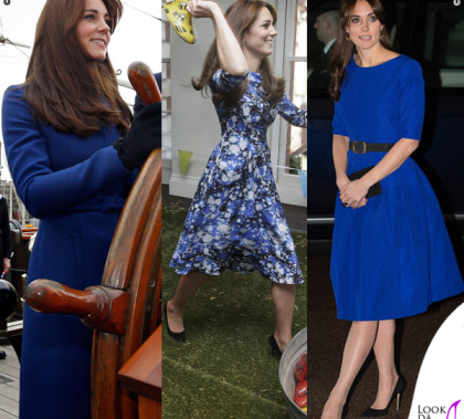 Kate Middleton cappotto Christopher Kane abiti Tabitha Webb e Saloni