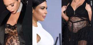 Kim Kardashian abiti premaman pancione