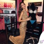 Lily Aldridge Victoria's Secret Fantasy Bra abito Zuhair Murad