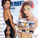 Mariana Rodriguez presentazione calendario ForMen abito Versace