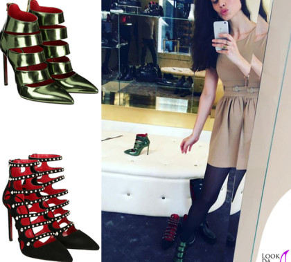 Marica Pellegrinelli scarpe Cesare Paciotti