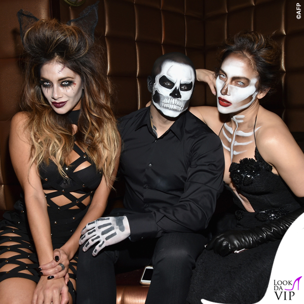 Nicole Scherzinger Casper Smart Jennifer Lopez Halloween abito Michael Costello