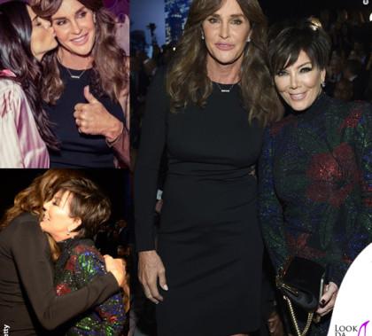 VS Fashion Show Caitlyn Jenner abito Stella McCartney Kris Jenner abito Balmain