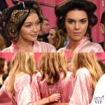 Victoria's Secrets Fashion Show backstage Gigi Hadid Kendall Jenner