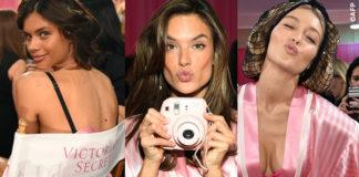 Victoria's Secrets Fashion Show backstage Sara Sampaio Alessandra Ambrosio Gigi Hadid Kendall Jenner Lais Ribeiro