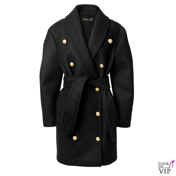 cappotto Balmain per H&M