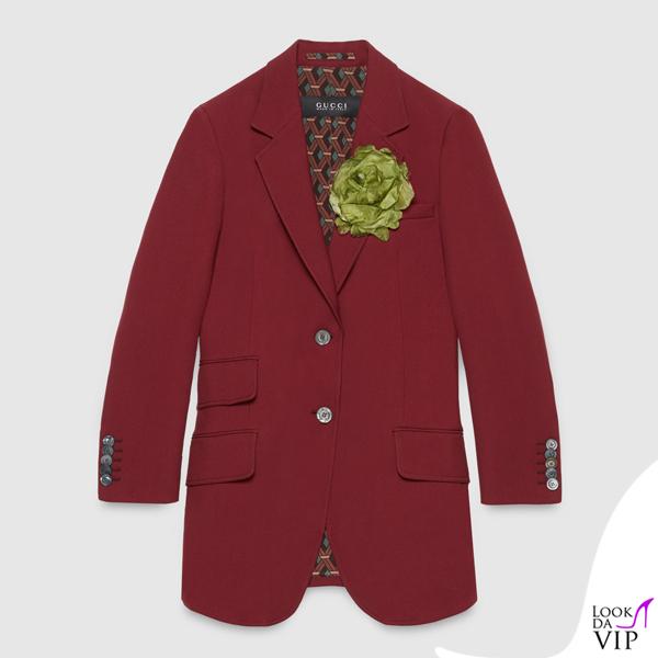 giacca Gucci borgogna - Look da Vip d4419bb63ffe