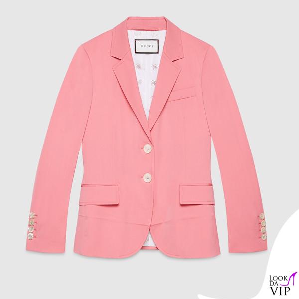 giacca Gucci rosa