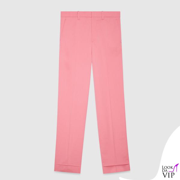 pantaloni Gucci rosa