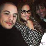Casper Smart Jennifer Lopez occhiali cappotto Max Mara