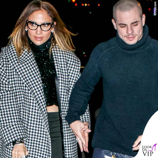 Casper Smart Jennifer Lopez occhiali cappotto Max Mara 2