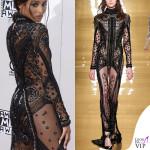 Ciara American Music Awards abito Reem Acra 2