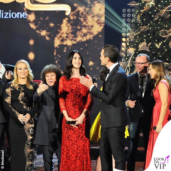 Concerto di Natale Canale 5 Anastacia Riccardo Cocciante Silvia Toffanin Alvin Lola Ponce