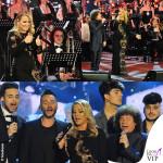 Concerto di Natale Canale 5 Anastacia abito Mimi Tran Riccardo Cocciante