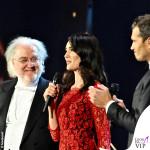 Concerto di Natale Canale 5 Silvia Toffanin abito Diane Von Fustemberg Alvin 4
