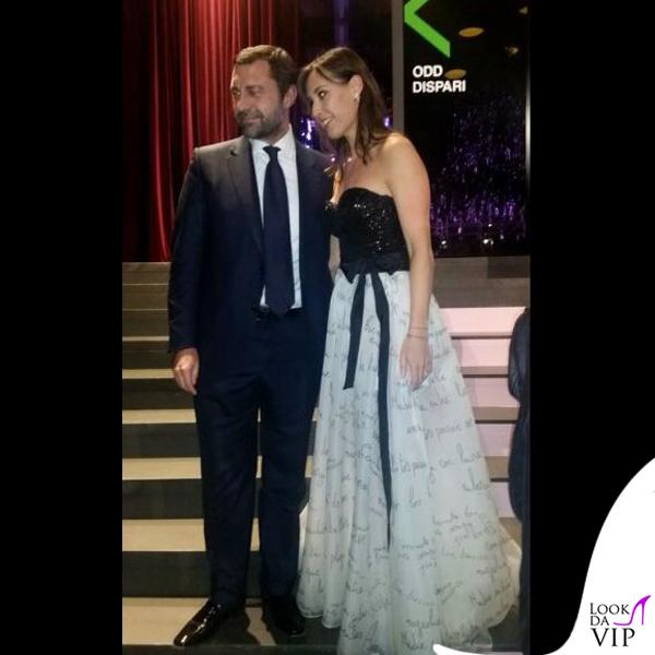 Flavia Pennetta Gazzetta Sports Award corpetto gonna Atelier Emé 5