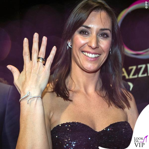 Flavia Pennetta donna dell'anno 2015 Gazzetta Sports Award corpetto gonna Atelier Emé 4