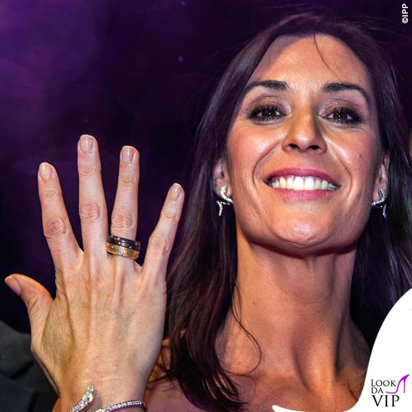 Flavia Pennetta donna dell'anno 2015 Gazzetta Sports Award corpetto gonna Atelier Emé 5