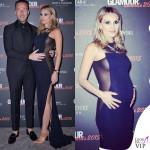 Francesco Facchinetti e Wilma Faissol Glamour Awards abito Winonah