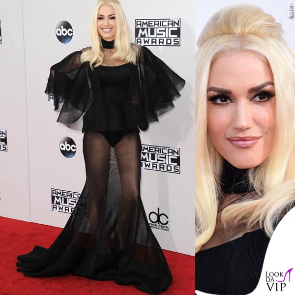 Gwen Stefani American Music Awards abito Yousef Al Jasmi