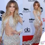 Jennifer Lopez Billboard Music Awards abito Charbel Zoe Couture