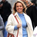 Justine Mattera cappotto Dondup maglia Marina Yachting jeans Care Label borsa Pomikaki scarpe Adidas intimo Verdissima 5