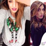 Margherita Zanatta maglione H&M Elfie Selfie 1