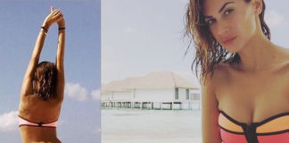 Melissa Satta Kevin Prince Boateng bikini Triangl e Effek occhiali Hawkers