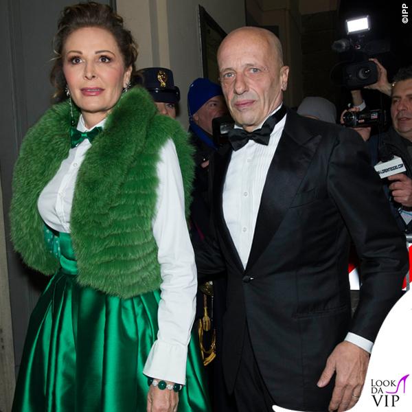Prima de La Scala Daniela Santanchè total Ultràchic Alessandro Sallusti 3