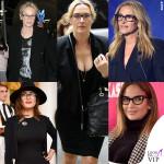 Da Julia Roberts a JLo: star con occhiali nerd