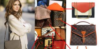 Chiara Ferragni borse Celine Chanel Saint Laurent Louis Vuitton