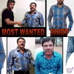 Tutti pazzi per la camicia di El Chapo