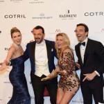 Elena Barolo, Alessandro Martorana, Federica Fontana e Felice Rusconi