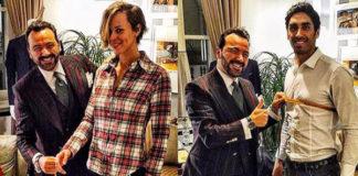 Federica Pellegrini Filippo Magnini abito su misura Alessandro Martorana