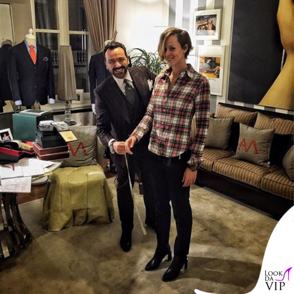 Federica Pellegrini abito su misura Alessandro Martorana