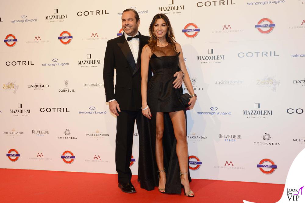 Gianluca Mobilia e Cecilia Capriotti