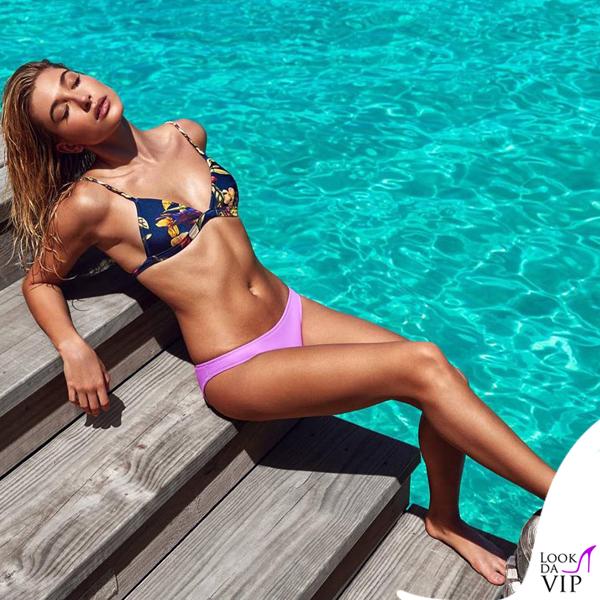Hailey Baldwin bikini Triangl